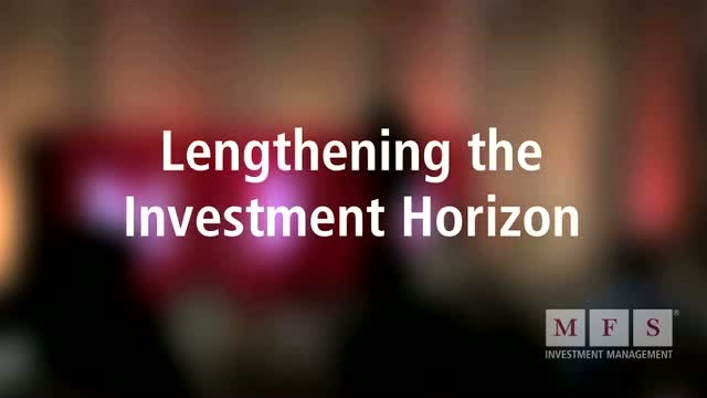 Lengthening the investment horizon