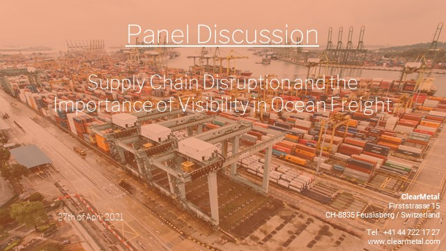 Supply Chain Disruption and the Importance of Visibility in Ocean Freight