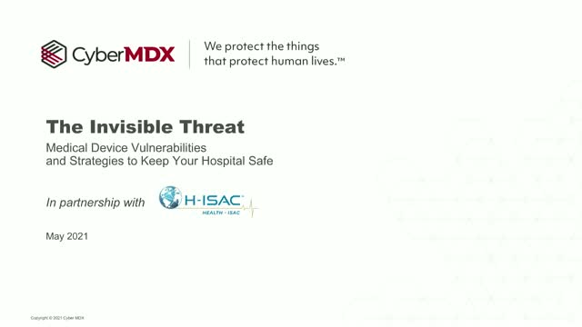 Invisible Threat: Medical Device Vulnerabilities and Strategies to Keep You Safe