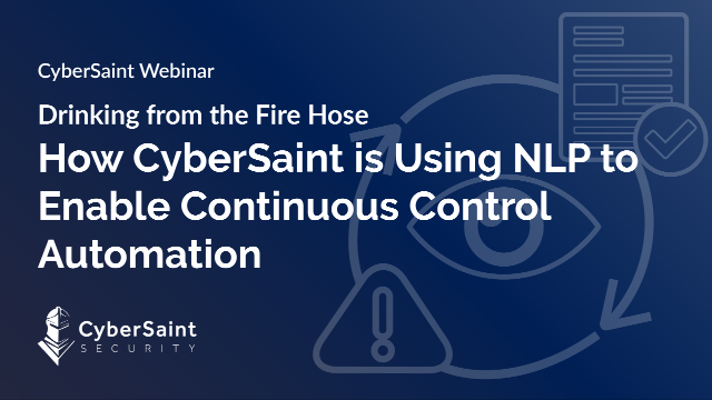 Drinking from the Fire Hose: Using NLP to Enable Continuous Control Automation