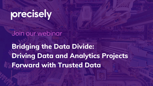 Driving Data and Analytics Projects Forward with Trusted Data (BST/CEST)