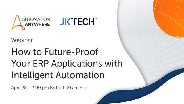 How to Future-Proof Your ERP Applications with Intelligent Automation