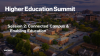 Higher Education Summit Session 2: Connected Campus & Enabling Education