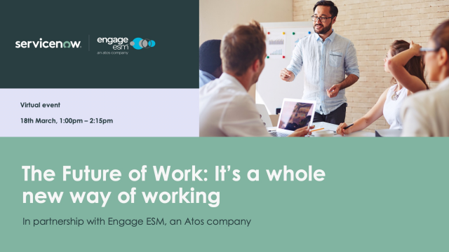 The Future of Work: It's a whole new way of working - on-demand digital event