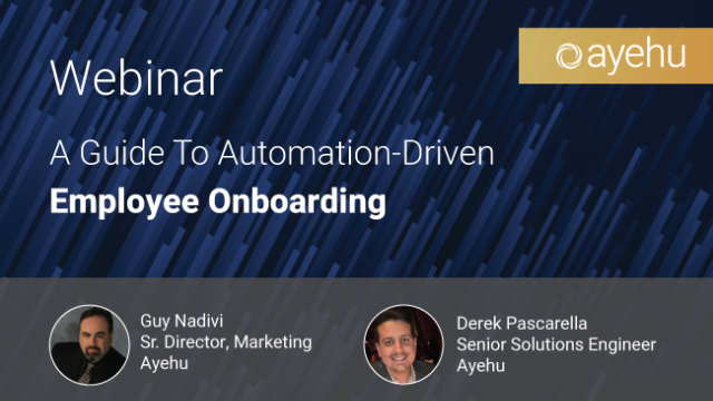 Webinar - A Guide To Automation-Driven Employee Onboarding