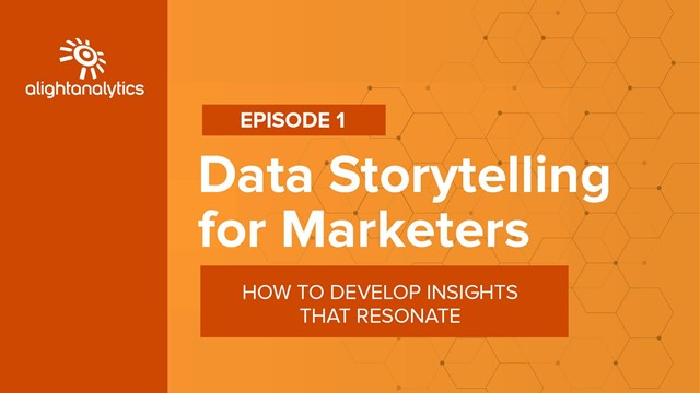 Data Storytelling for Marketers | How to Develop Insights That Resonate