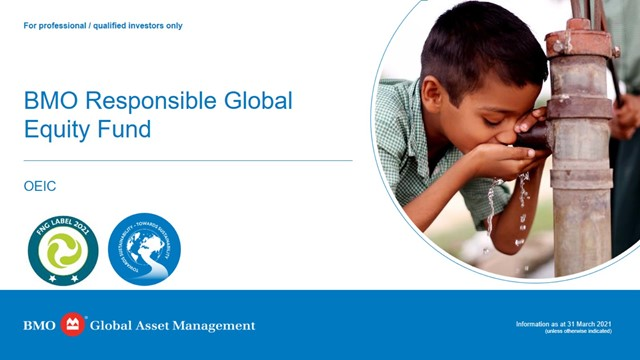 Investing with impact in mind: Q1 2021 BMO Responsible Global Equity Fund Update