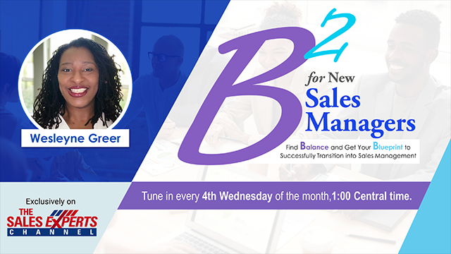 B2 for New Sales Managers - Episode 8