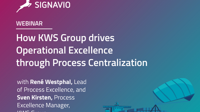 How KWS Group drives Operational Excellence through Process Centralization