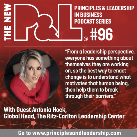 The New P&L speaks to Antonia Hock, Global Head, Ritz-Carlton Leadership Center