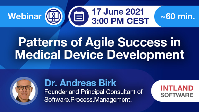 Patterns of Agile Success in Medical Device Development