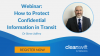 How to Protect Confidential Information in Transit