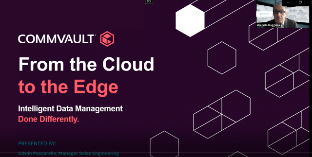 Intelligent Data Management from the Cloud to the Edge - evento Soiel