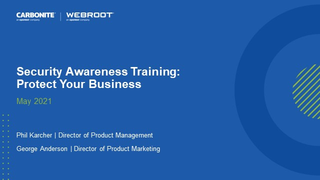 Security Awareness Training: Protect Your Business