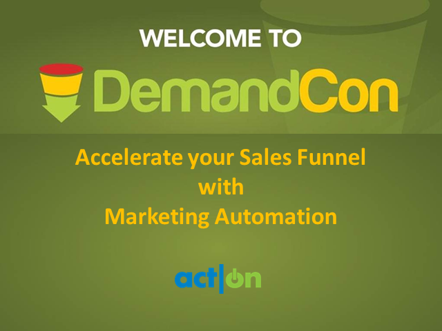 Accelerate your Sales Funnel with Marketing Automation