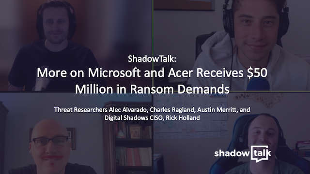 Podcast: More on Microsoft and Acer Receives $50 Million in Ransom Demands