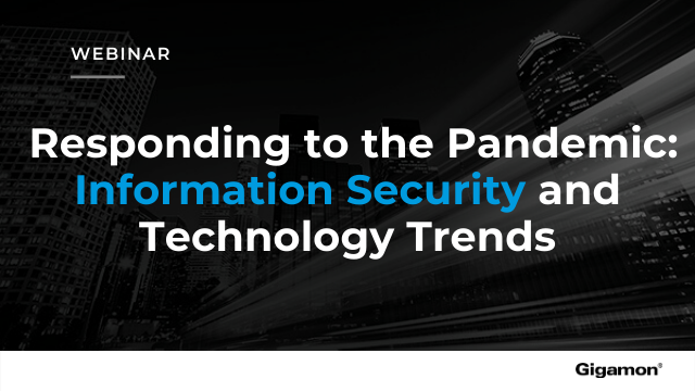 Responding to the Pandemic: Information Security and Technology Trends