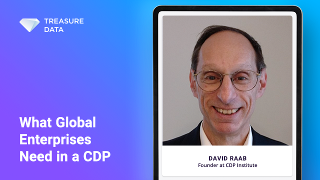 What Global Enterprises Need in a CDP