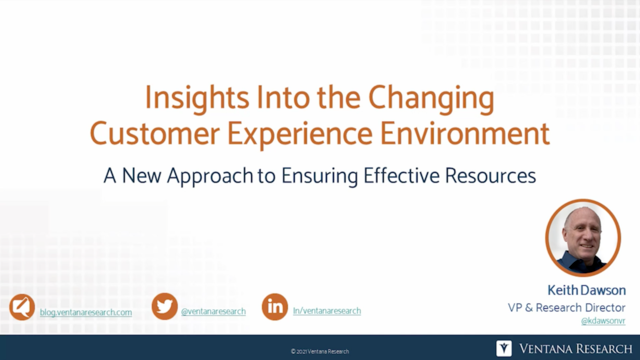 Insights into the Changing Customer Experience Environment