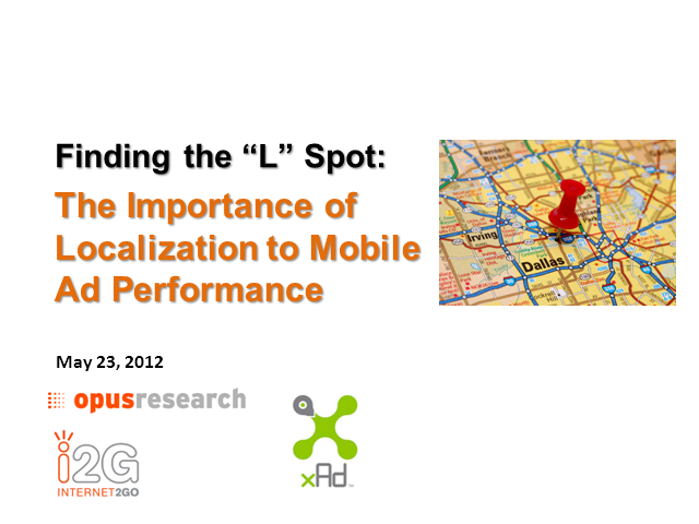 Finding the L Spot: The Hype and Reality of Local-Mobile Advertising