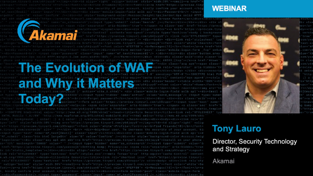 Evolution of WAF And Why it Matters Today