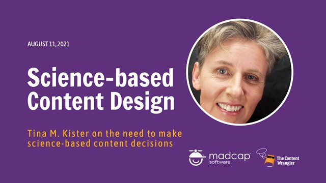 The Need for Science-Based Content Design