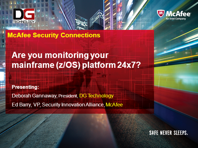 Are you monitoring your mainframe (z/OS) platform 24x7?