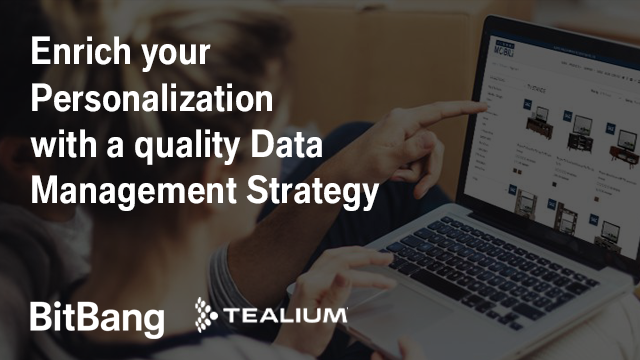 Enrich your Personalization with a quality Data Management Strategy