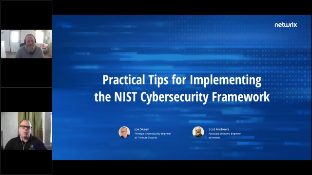 [Online Workshop] How to Get Started with the NIST Cybersecurity Framework