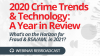 2020 Crime Trends & Technology: A Year in Review