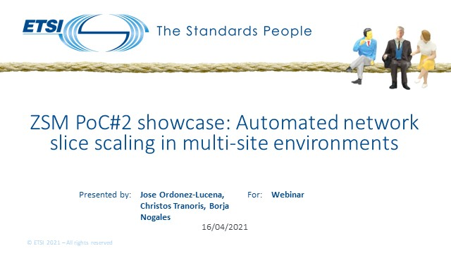 ZSM PoC#2 showcase: Automated network slice scaling in multi-site environments