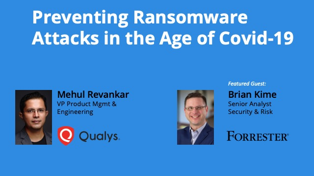 Preventing Ransomware Attacks in the Age of Covid-19