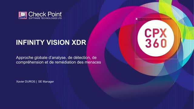 CHECK POINT INFINITY VISION XDR