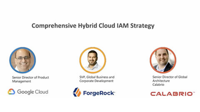 Drive to the Cloud with a Hybrid IAM Strategy