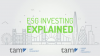 ESG Investing Explained - How Can You Make Money From ESG?