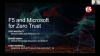 F5 and Microsoft: Together Addressing Zero Trust Strategy for Securing Apps