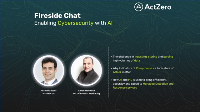 Fireside Chat: Enabling Cybersecurity with AI