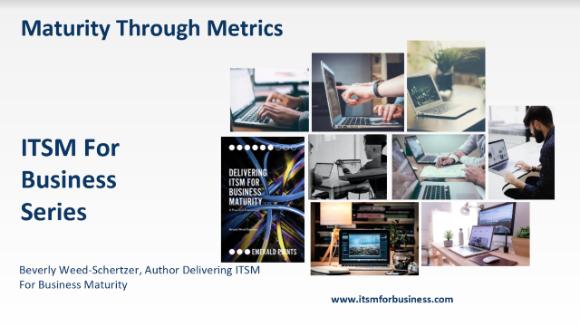 Maturity Through Metrics