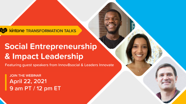 Transformation Talks: Social Entrepreneurship & Impact Leadership