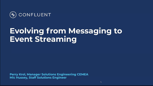 Evolving from Messaging to Event Streaming (Ep 1: Legacy Modernization Series)