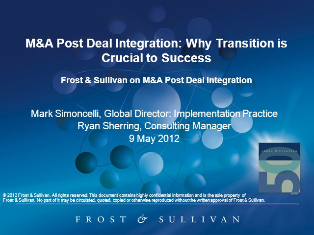 M&A Post Deal-Integration: Why Transition is Crucial to Success