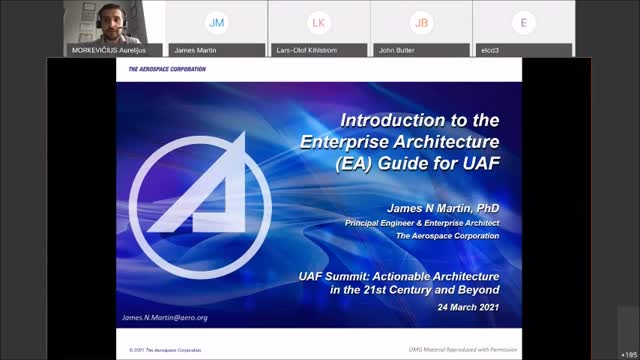 Introduction to the Enterprise Architecture (EA) Guide for UAF