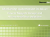 Marketing Automation in 2012-How to Navigate Change and Future-Proof Your Selec.