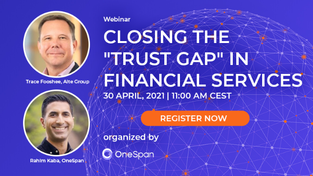 "Closing the ""Trust Gap"" in Financial Services"