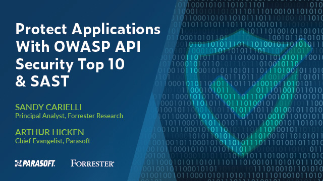 Forrester Webinar: Protect Applications With OWASP API Security Top 10 and SAST