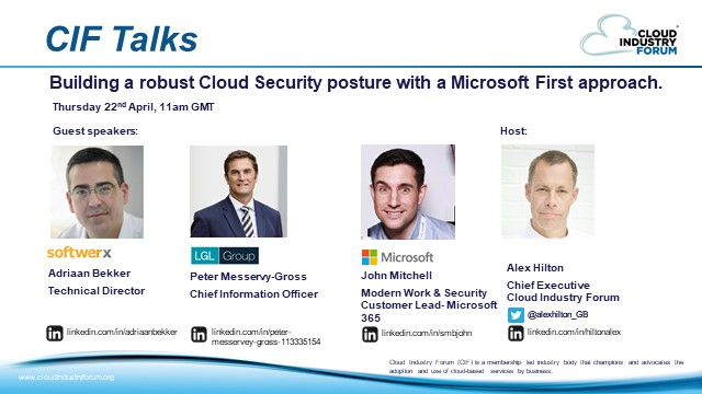 Building a Robust Cloud Security Posture with a Microsoft First Approach