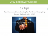 12 Tips for Sales and Marketing for Adress Changing buyer Behaviour in 2012