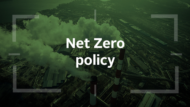 Climate policy and net zero: the road to COP26