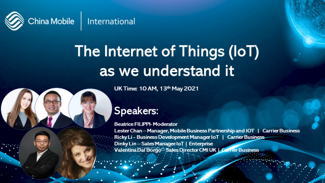 The Internet of Things (IoT) as we understand it