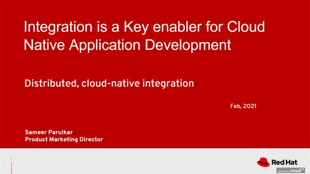 Integration is key to cloud-native application development